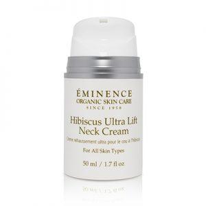 Eminence Hibiscus Ultra Life Neck Cream, order in Vancouver @ VokaDeka!