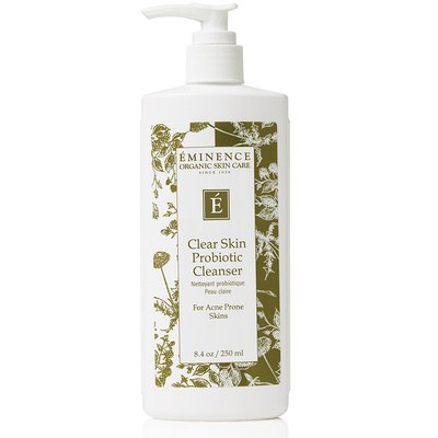 Clear Skin Probiotic Cleanser voka deka esthetics salon vancouver