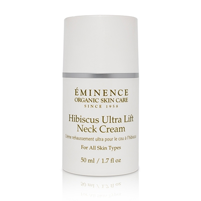Eminence Hibiscus Ultra Life Neck Cream With Cap, order in Vancouver @ VokaDeka!